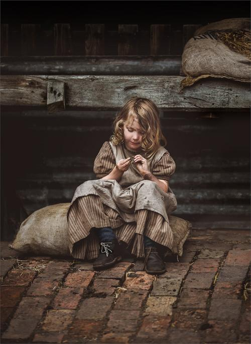 Adv Print 1st Lesley Jane Carruthers The little stable girl
