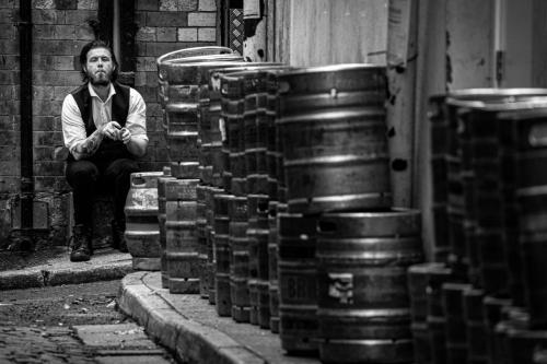 Beginners 2nd - Resting Barman - Mark Kerridge