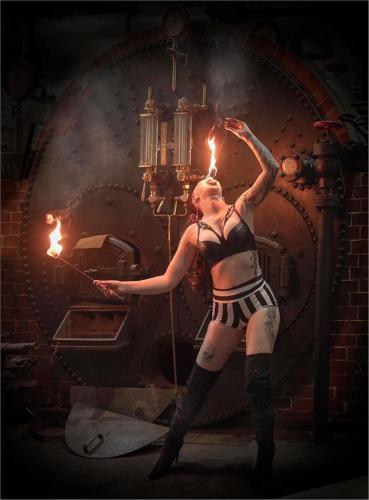 Intermediate Com - Fire Eater - Carolyn Whetton