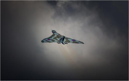 Advanced Com Vulcan farewell Iain Moore