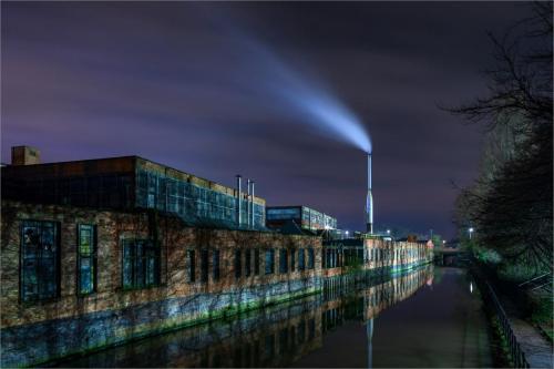 Bgeinners 1st Pl. Industrial Waterway Mark Kerridge