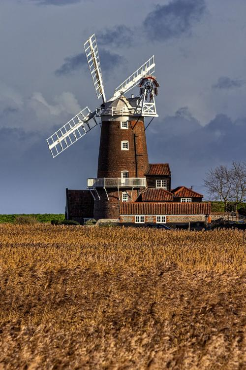 Windmill at Cley