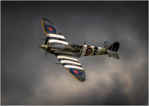 Adv pdi HComm D Day Spitfire Iain Moore