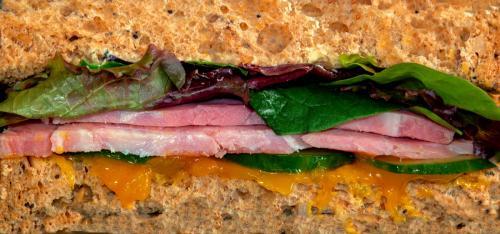 Beginners Print 2nd Ham Sandwich Malcolm Whetton
